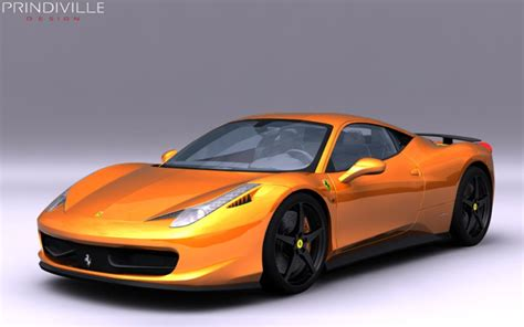 Top Speed 458 by 2012 458 Italia By Prindiville Design Gallery