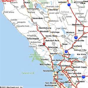 Area Map Northern California