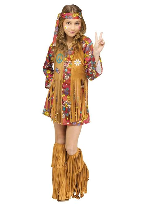 peace  love hippie girls costume hippie costumes