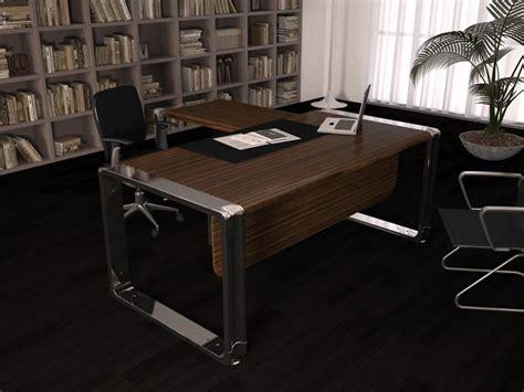 bureau avec retour informatique bureau de direction elite avec retour