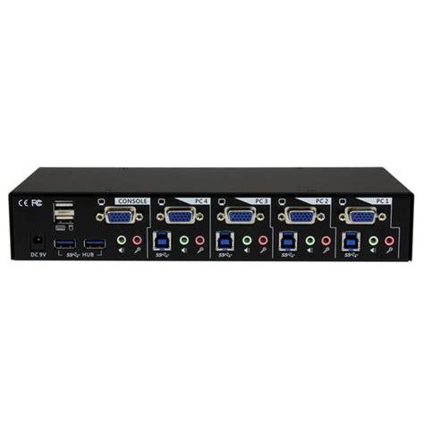 3 Kvm Switch by 4 Usb 3 0 Vga Kvm Switch Kvm Switches Startech