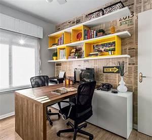 Home Office Pequeno: 16 Ideias de Decoração