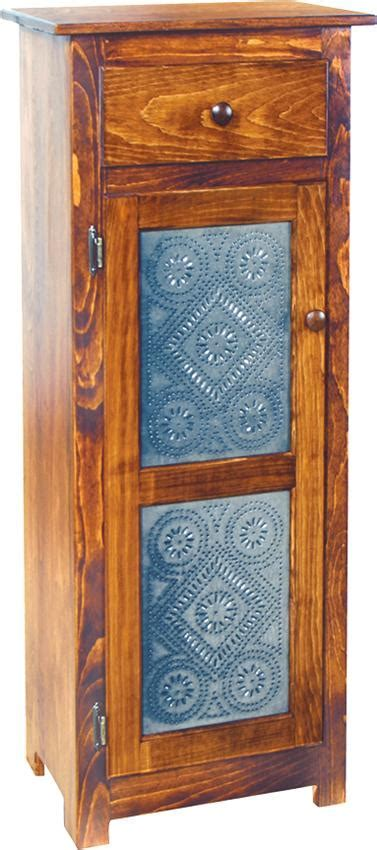 Pine Jelly Cabinet with Tin Doors by DutchCrafters Amish