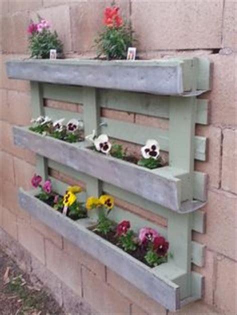diy pallet planter wall pallets designs
