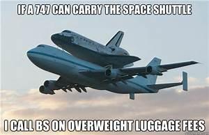 Space Shuttle Airplane memes | quickmeme