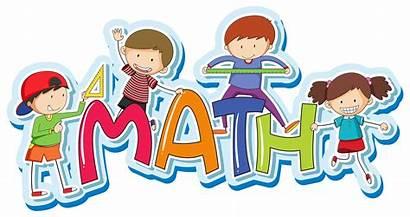 Math Word Clipart Vector Happy Font Mathematics