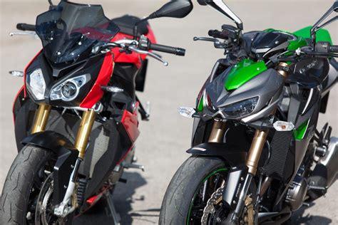 Bmw S 1000 R Vs Kawasaki Z1000 Details Motorrad Fotos
