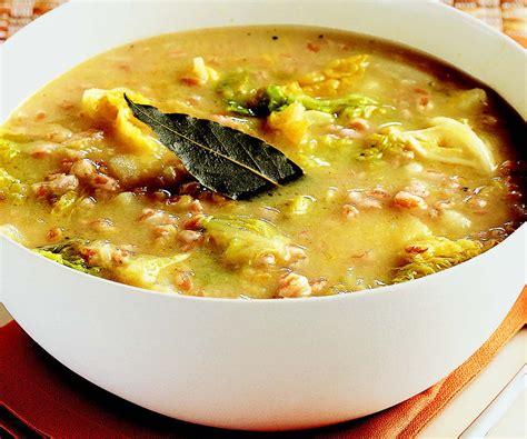 ricette per la cucina ricetta minestra di farro verza e patate le ricette de