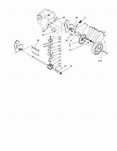 Rear Axle And Transmission Diagram  U0026 Parts List For Model