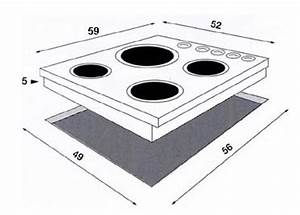 Dimension Plaque De Cuisson : comment installer une table vitroc ramique darty vous ~ Dailycaller-alerts.com Idées de Décoration