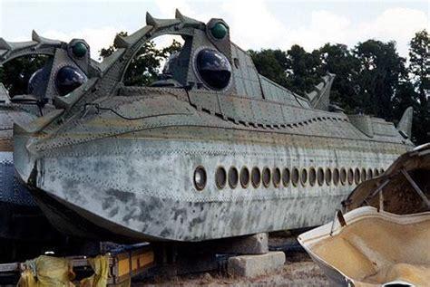 Boat Salvage Yard Orlando by Walt Disney World Boneyard