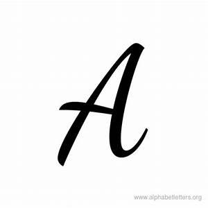 Download Printable Cursive Letter Alphabets   Alphabet ...