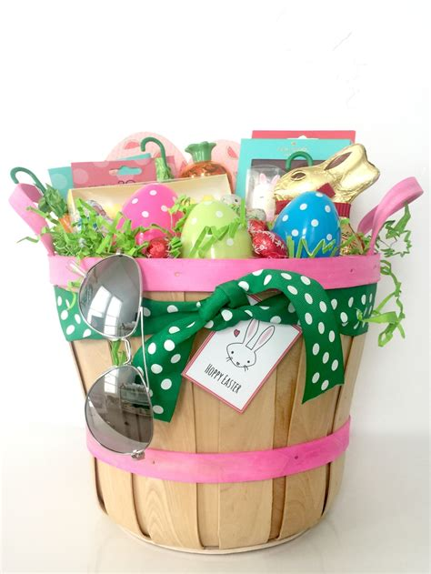 Easter Basket Ideas For Teen Girls  Tauni + Co