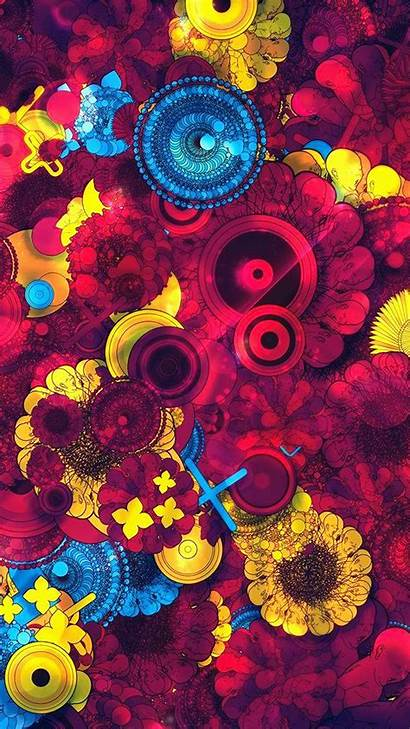 Abstract Pattern Android Wallpapers Yellow 4k Colorful