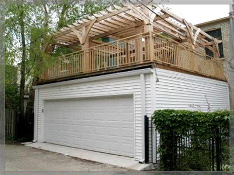 Flat Roof Wdeck Garages  Danleys Garage World General