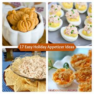 17 easy holiday appetizer ideas favesouthernrecipes com