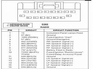 1994 Ford Radio Wiring Diagram