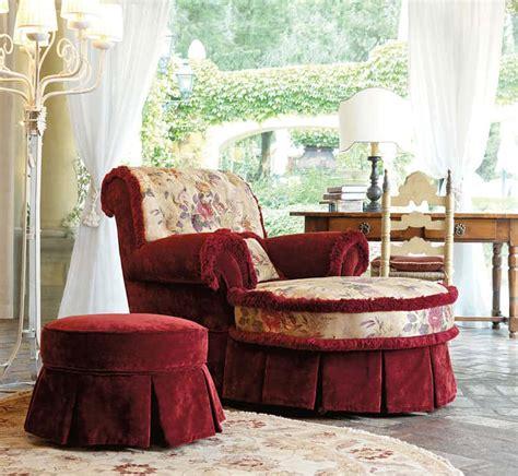poltrone in tessuto classiche le poltrone classiche di danti divani