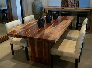 dining room best saving spaces solid wood dining room With best wood for dining room table