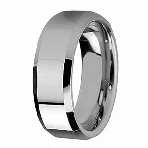 8mm men39s tungsten carbide wedding ring band wwwdevuggocom With tungsten carbide wedding ring