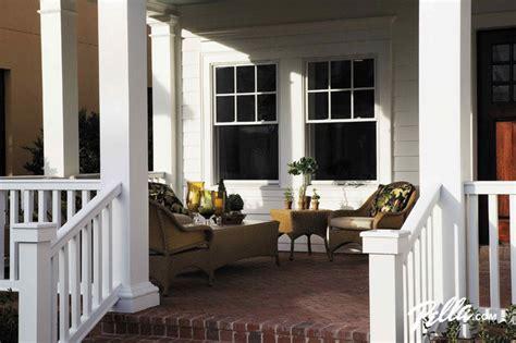pella proline double hung windows traditional porch