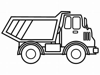 Coloring Pages Truck Printable Boys Books