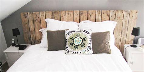 rideau chambre adulte comment fabriquer sa tête de lit avec des palettes