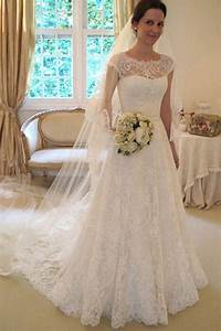 cap sleeve lace a line wedding dresses 2017 long custom With a line wedding dresses 2017
