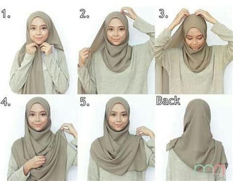 tutorial hijab turki simple jilbab gucci