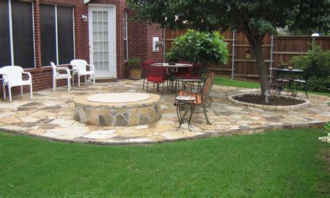 flagstone patio ideas the outdoor space design