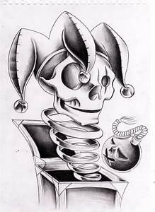 Jack in the box - Skulljester by WillemXSM on DeviantArt