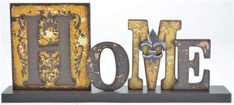 decorative uchome wooden sign  shelf  tabletop