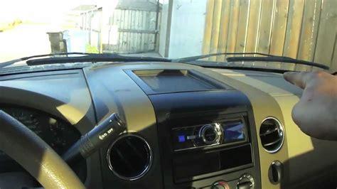 diy ford  stuck heater hvac vents repair youtube