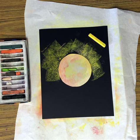 solar eclipse  art art projects  kids