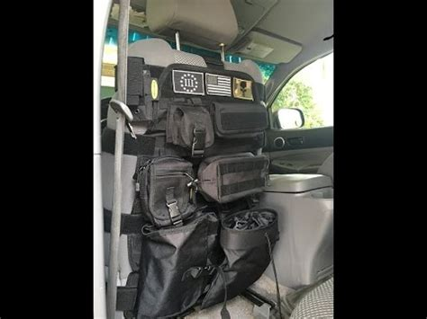 tactical seat cover  smitty built youtube