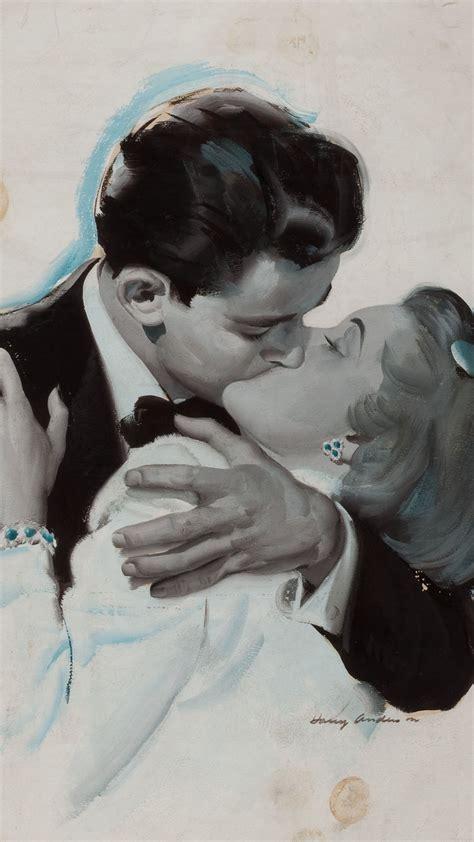aj  couple love vintage art illust anderson harry