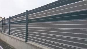 Brise Vue En Aluminium : cl ture pvc ou alu cholet angers gris anthracite ~ Edinachiropracticcenter.com Idées de Décoration