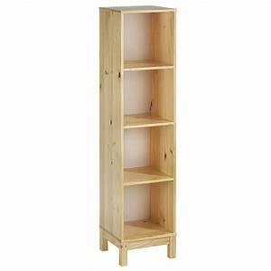 Etagere En Pin : etag re 4 casiers en pin logo vernis naturel mobil meubles ~ Teatrodelosmanantiales.com Idées de Décoration