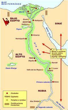 Mapa Del Antiguo Egipto  Estudio Del Antiguo Egipto