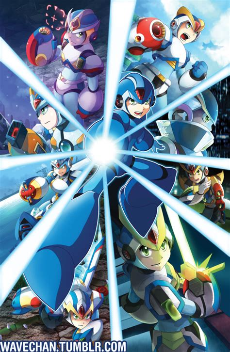 Mega Man X By Suzuran On Deviantart