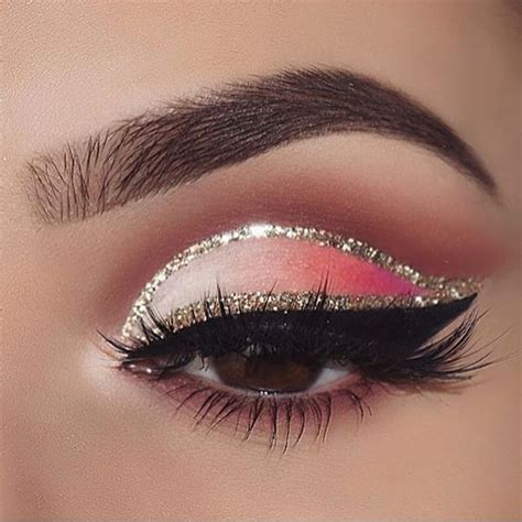 red  silver eye makeup saubhaya makeup