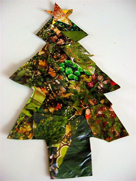 recycled christmas crafts for kids recycled tree craft