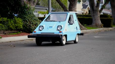 Vintage Electric Car