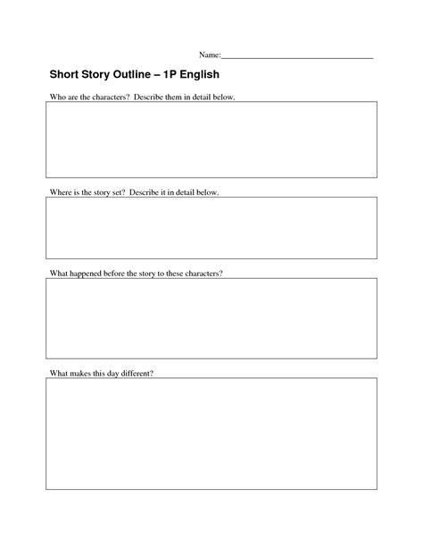 short story outline novel outline template lisamaurodesign