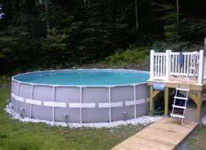 small decks for above ground pools pool design ideas