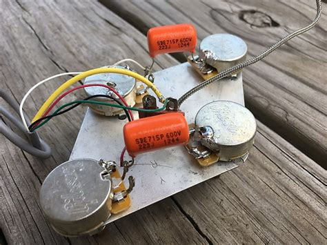 2017 gibson les paul classic wiring harness complete with reverb