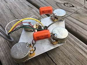 2017 Gibson Les Paul  Classic  Wiring Harness