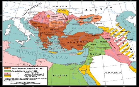 Ottoman Empire Middle East by The Influence Of The Ottoman Turks On The Middle East