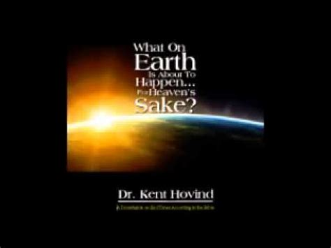 """End Times Book By Dr Kent Hovind """"what On Earth Is About To Happen?""""  New Commercial Youtube"""