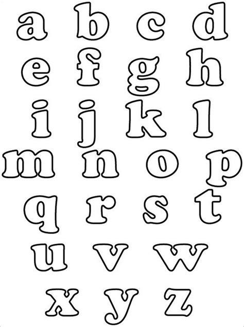 alphabet bubble letters  alphabet templates
